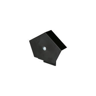 Continuous Dry Verge Ridge End Cap Black